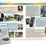 Newsletter design, Long Island, graphic design